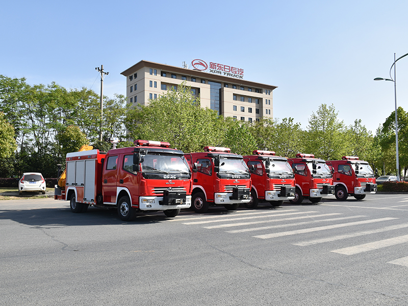 【April 16th,2019】To Myanmar- 5 Units Rescue Fire Truck