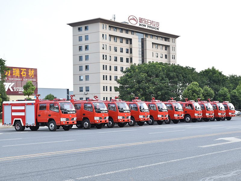 【July 10th,2019】To Myanmar- 10 Units DFAC Fire Truck