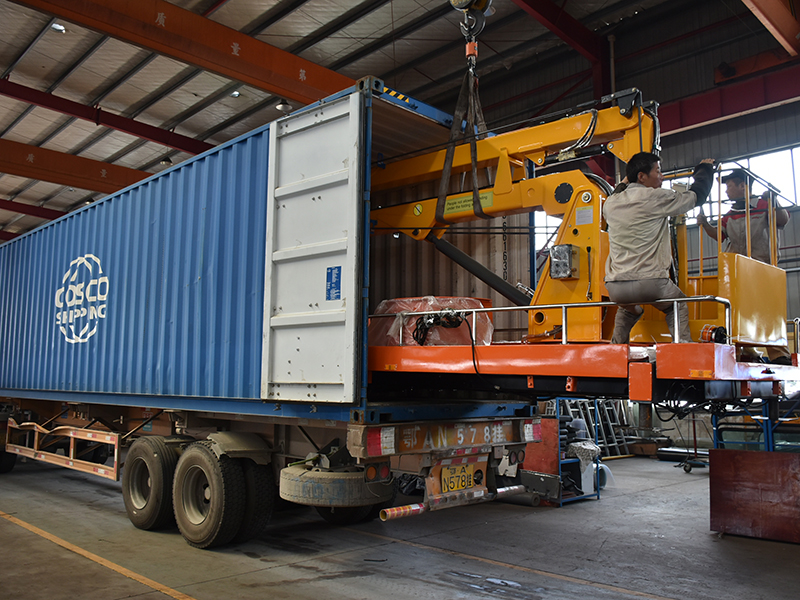 July 31th,2019】To Thailand- 1 Unit Superstructure of 14m Aerial Platform Truck