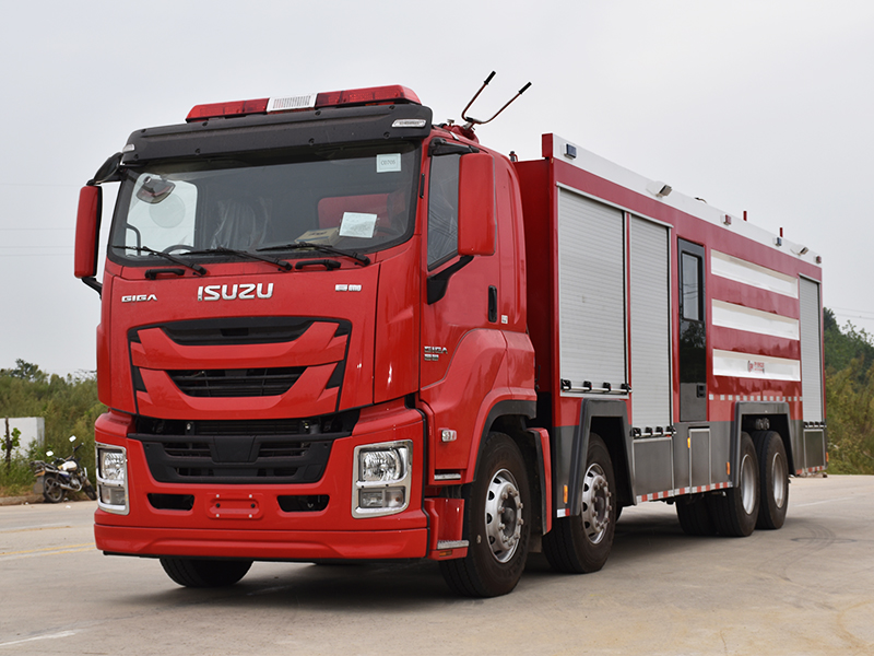 【Aug 27th,2020】To Philippines- 1 Unit ISUZU GIGA Firefighting Truck
