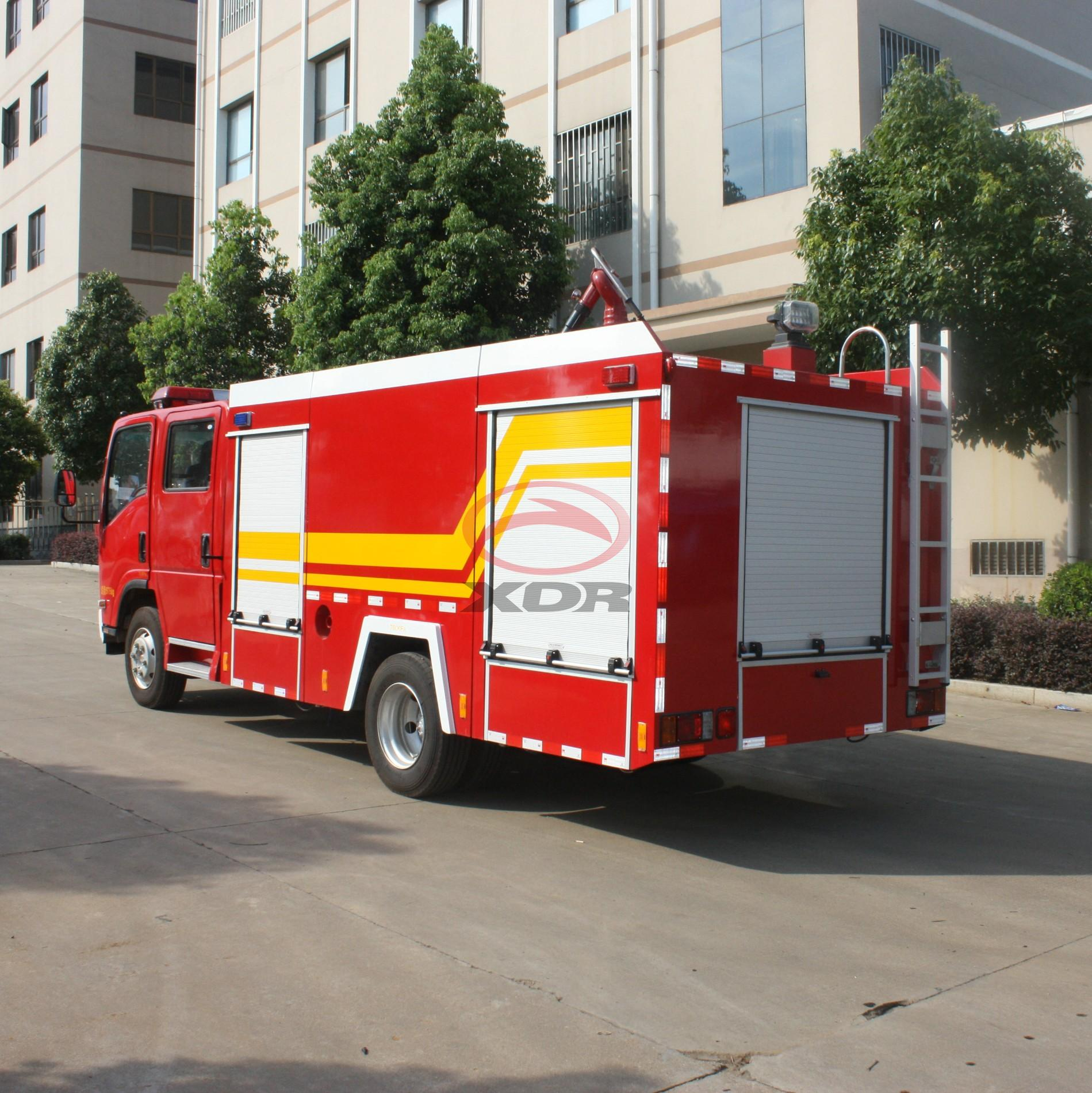 Right Hand Drive Fire Fighting Vehicle