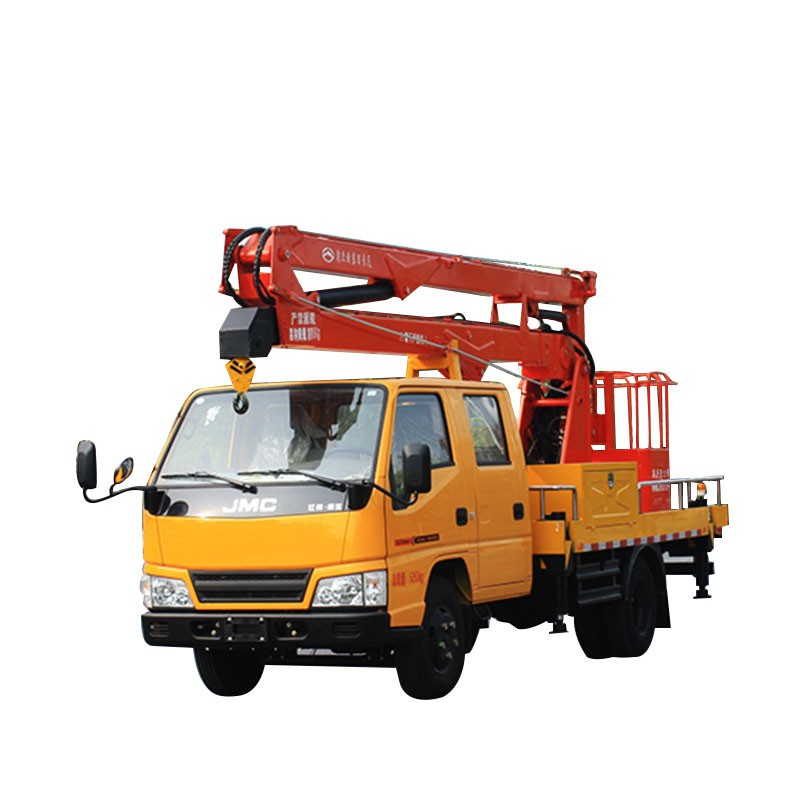 Euro 5 6 Wheels Aerial Lift Truck