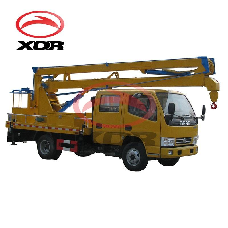 Hydraulic Outrigger 18m Aerial Work Manlift Truck