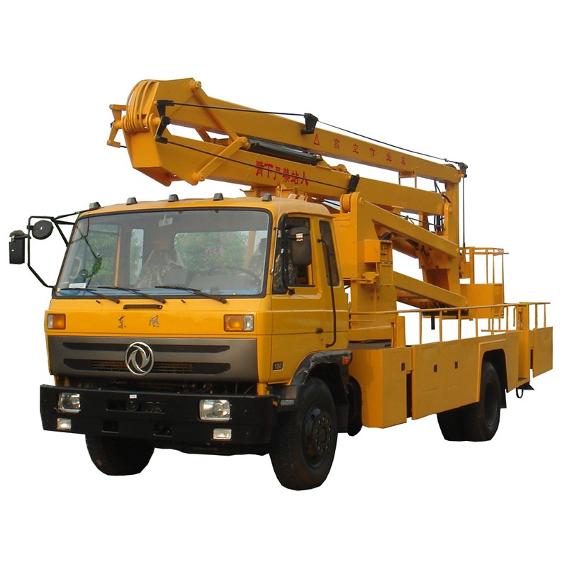 Truck Mounted Articulated Bucket Boom Truck