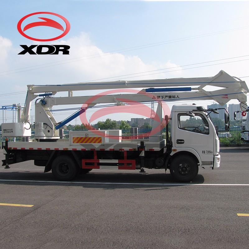 Folding Arm Type Aerial Manlift Truck