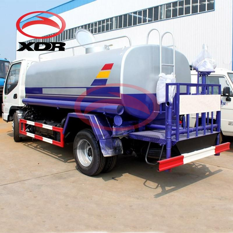 Stainless Steel Water Tank Car