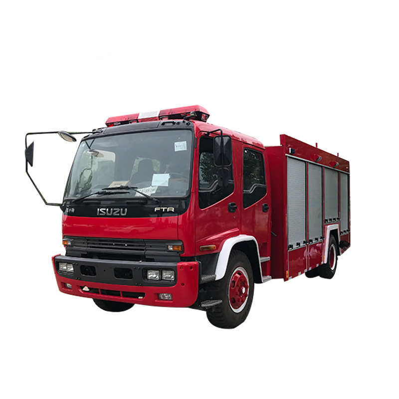 5CBM Left hand drive airport fire truck
