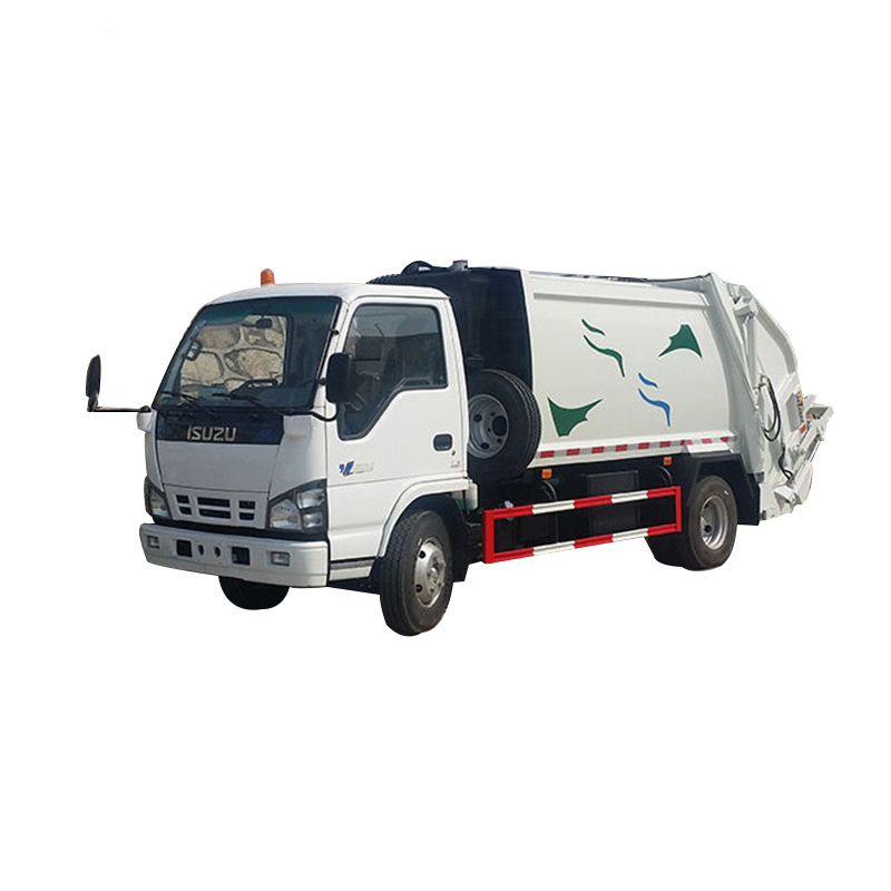 Solid Garbage Waste Collection Vehicle