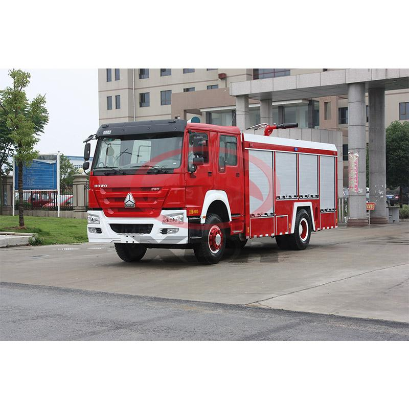 8 tons  fire engine truck