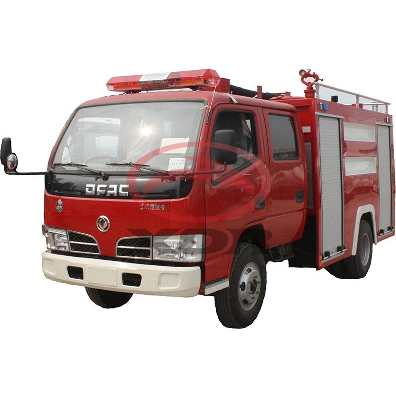 Diesel engine fire vehicle