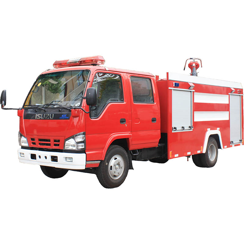 High quality Euro 5 emission fire truck